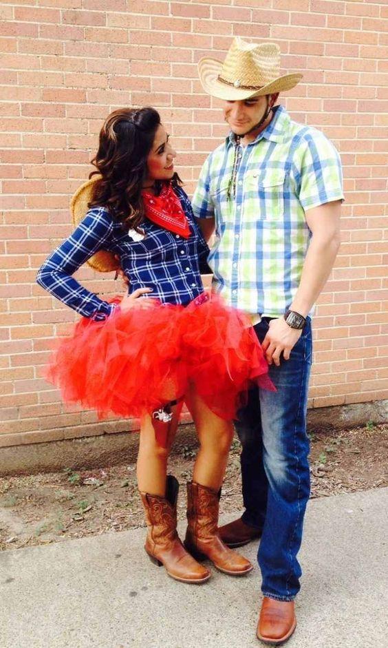Kostüm cowgirl selber machen
