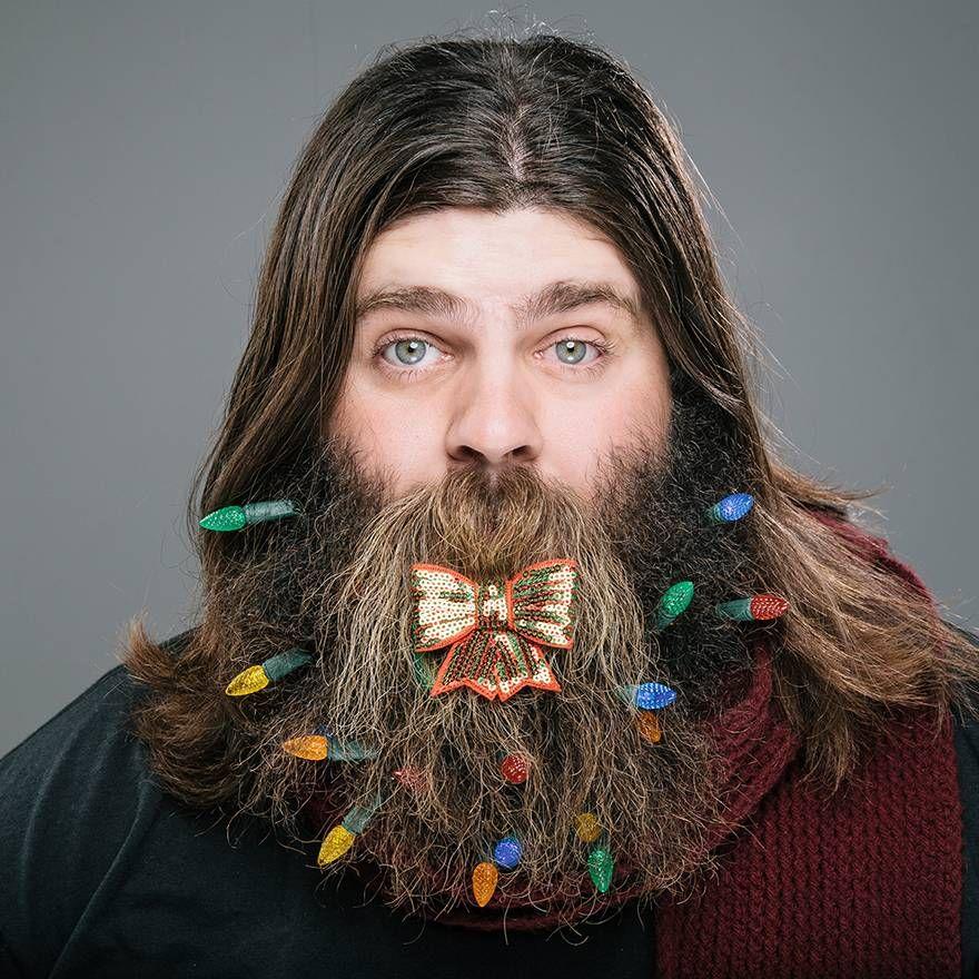 12 beards of Christmas: xmas lights | beard | Pinterest | Xmas ...