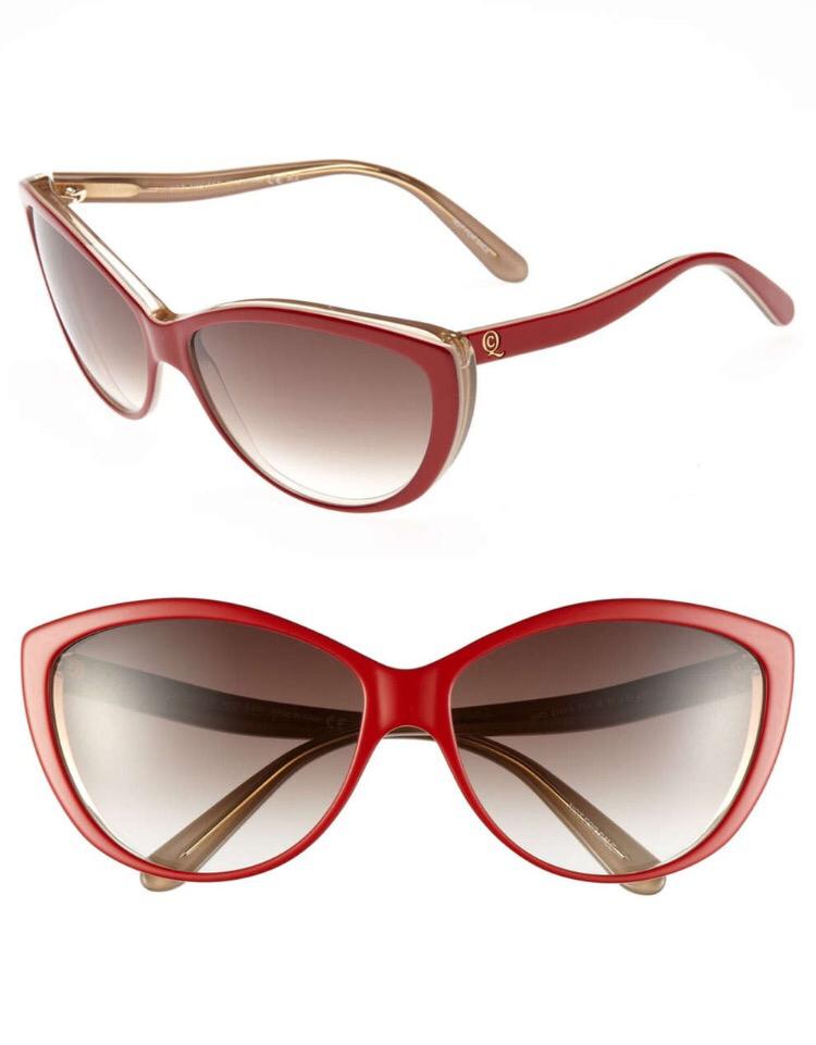 Alexander McQueen 61mm Two-Tone Cat Eye Sunglasses - Multiple Colors