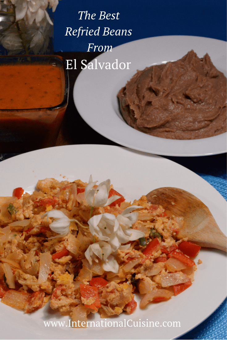 El Salvador Refried Beans #elsalvadorfood