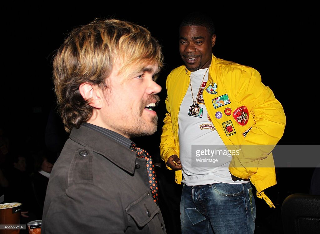 News Photo : Actors Peter Dinklage and Tracy Morgan attend the...