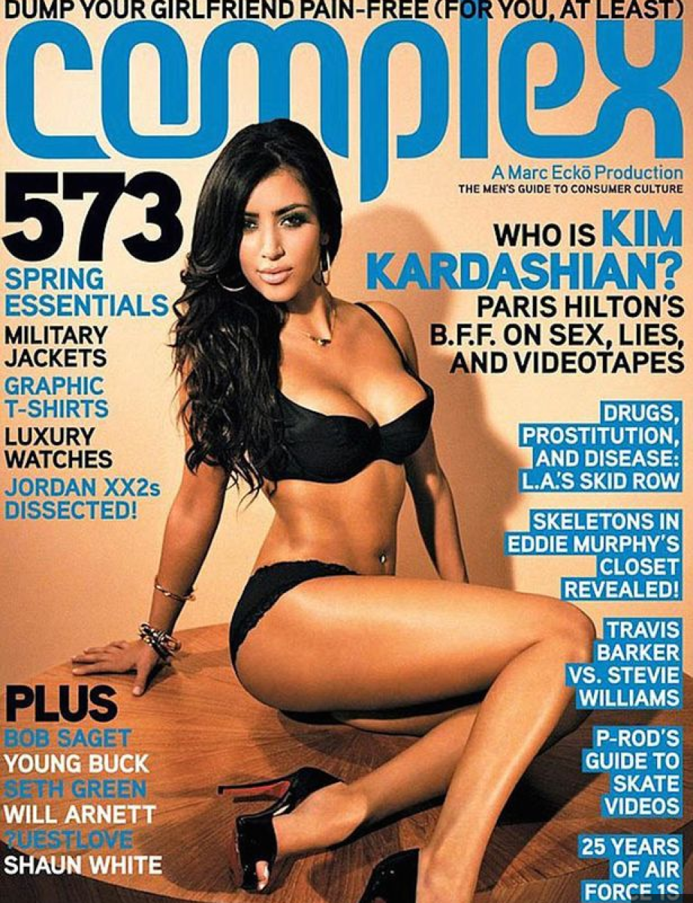 Kim Kardashian 2007 Complex Cover Story There Is No Ray J Sextape No Amount Of Money Could Convince Me To Release A Tape If I Had One