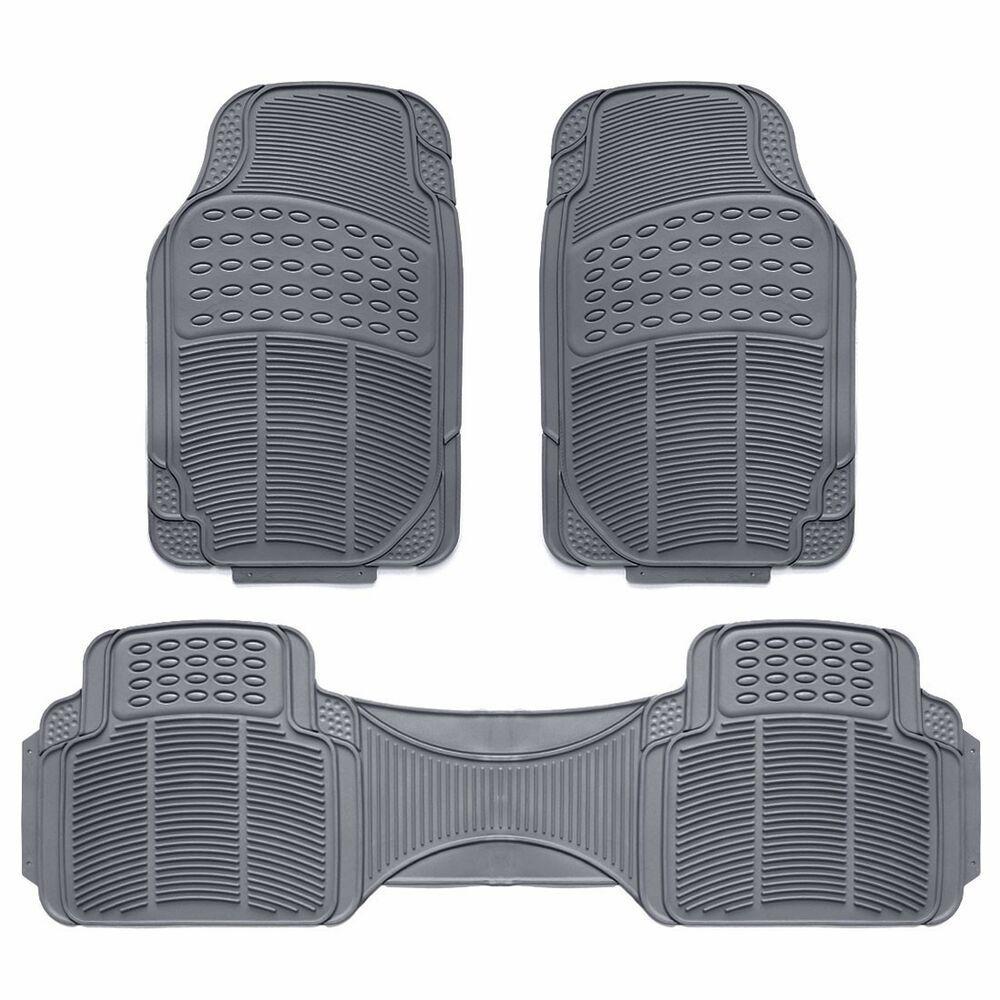AMDA Car floor mats, Waterproof car, Rubber floor mats