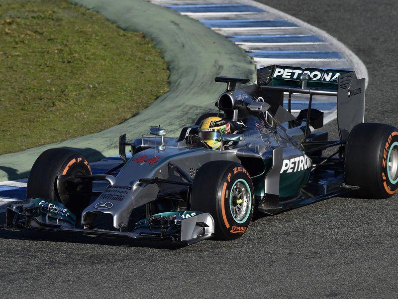 Lewis Hamilton in action Formula racing, Sports hero