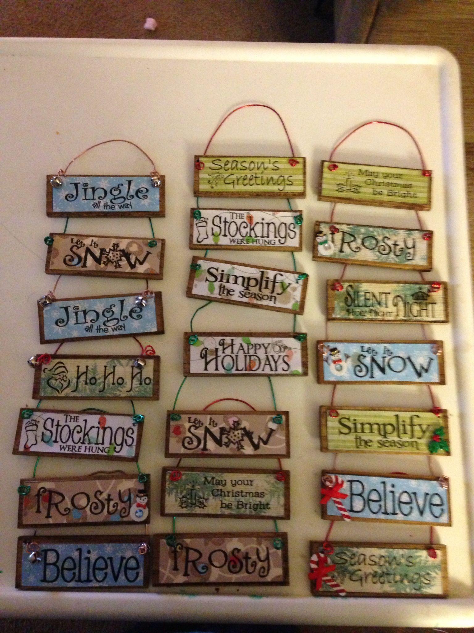 31++ Paint stick christmas crafts information