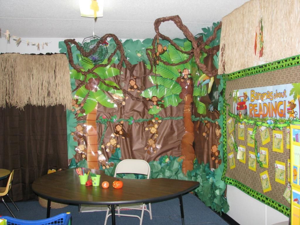 This Is My Jungle Theme Kindergarten Classroom The Kids