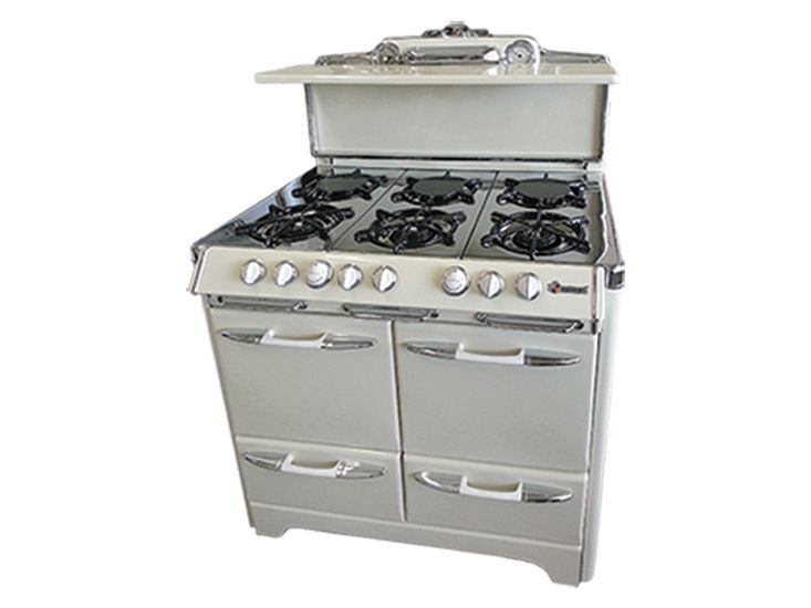 A Reconditioned O Keefe And Merritt Stove In Bisque Is Available Through Savon Liance