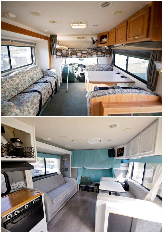Motorhome Makeover From 1999 To Modern In Just 10 000