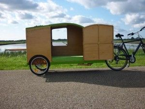 bicycle caravan bicycle camper bikeavan fietscaravan. Black Bedroom Furniture Sets. Home Design Ideas