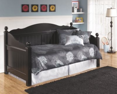 Jaidyn Twin Day Bed By Ashley Homestore Black Daybed With Trundle Ashley Furniture Daybed