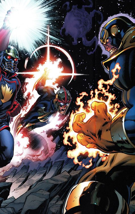 GUARDIANS OF THE GALAXY #18 Art by Ed McGuinness (pencils), Mark Farmer (inks) & Justin Ponsor (colors)