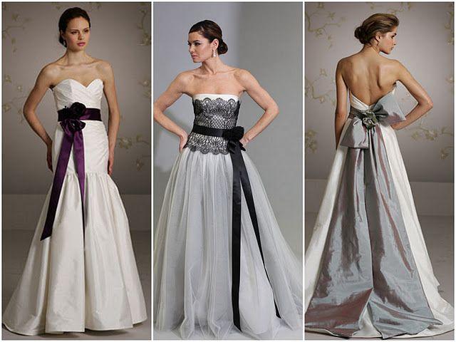 un detalle muy femenino: lazos para novias | vestido de novia