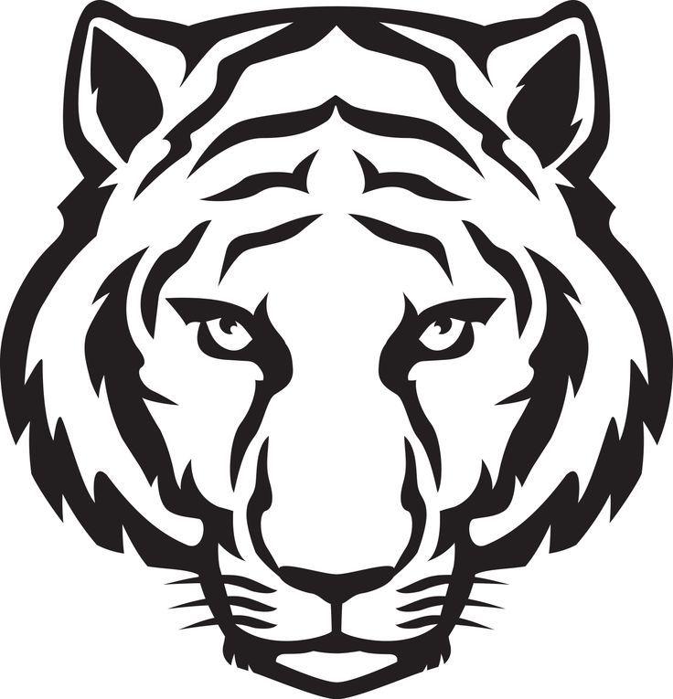 8e2b2c8264873 white tiger face printables - Google Search | white tiger cakes ...