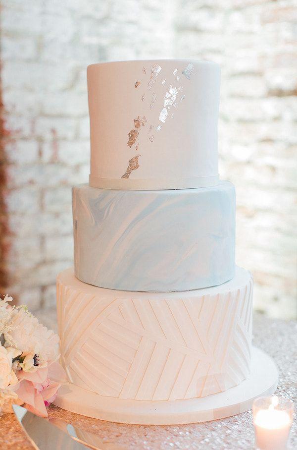 Urban Candlelight & Soft Blues Wedding -   15 cake Wedding blue ideas