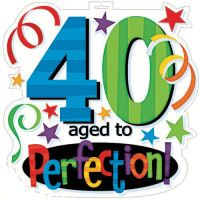 40th birthday come what may clipart best clipart best rh pinterest com 40th birthday clipart free 40th birthday clipart images pictures