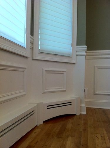Baseboard Heat And Wainscoting For