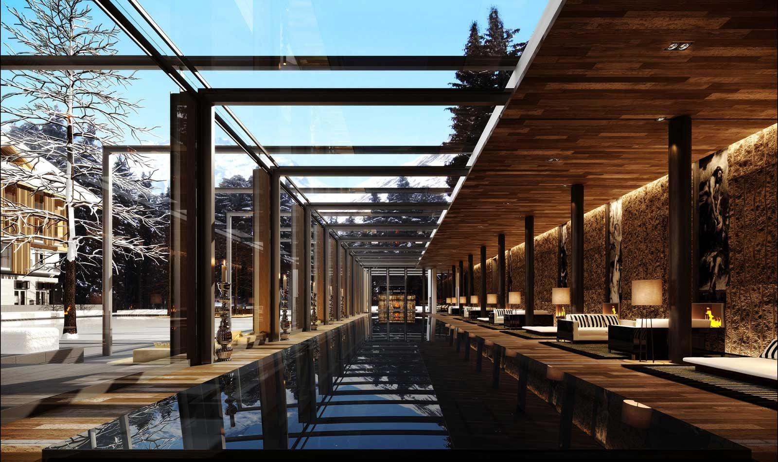 Chedi Andermatt Switzerland Luxury Ski Resort