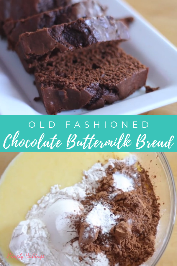 Buttermilk Chocolate Bread Recipe With Images Baking
