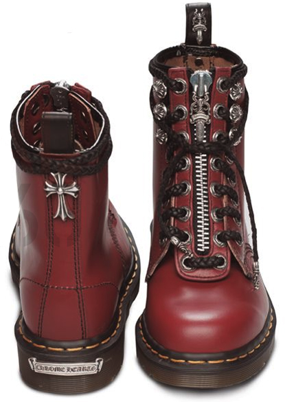 Sympathy for the Devil by the Rolling Stones- Down the Runway. Doc Martens  by Chrome Hearts Dr ... e075d8fceac8