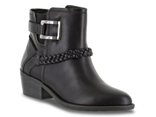 Women's Easy Street Bridle Bootie - Black