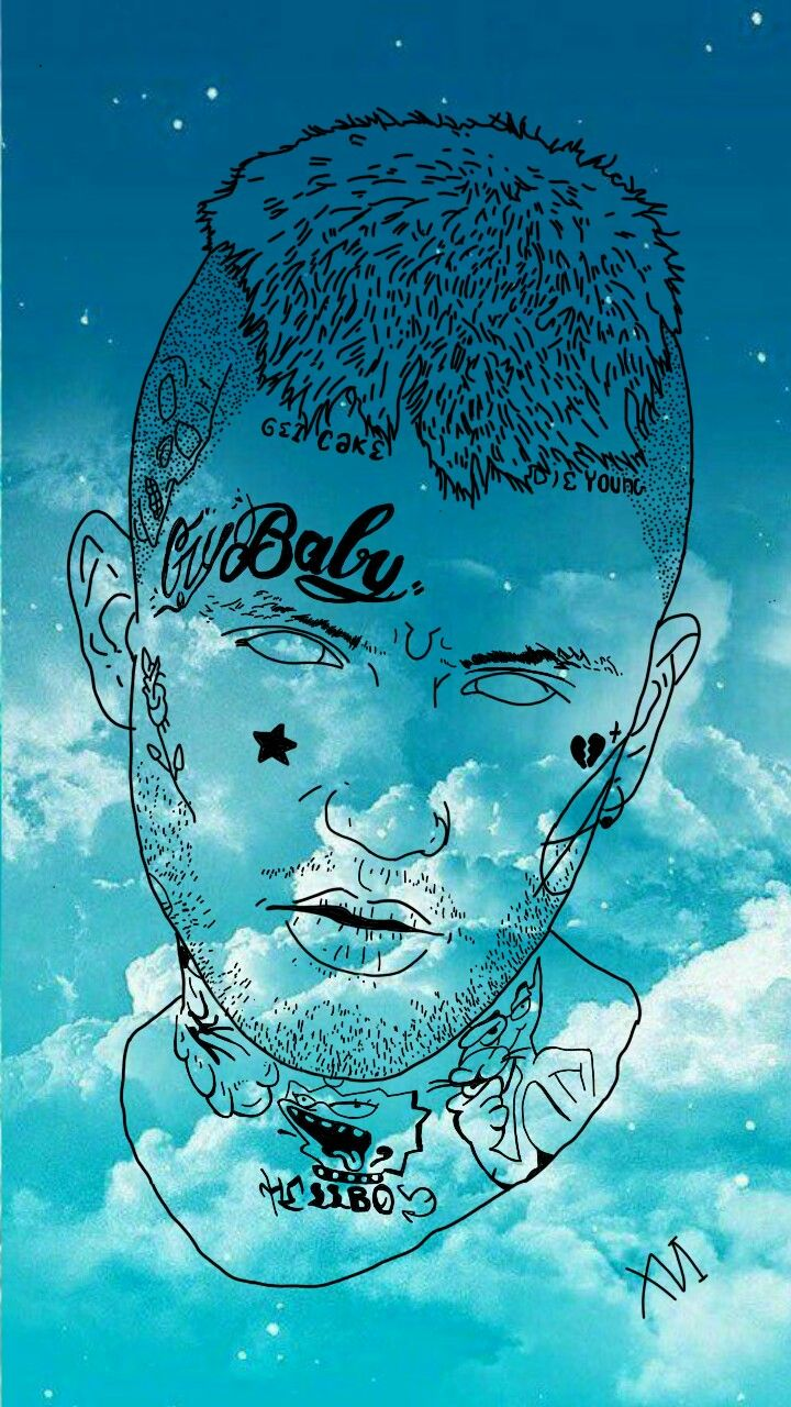 Wallpaper Lil Peep In 2019 Lil Peep Tattoos Lil Peep Hellboy Peeps