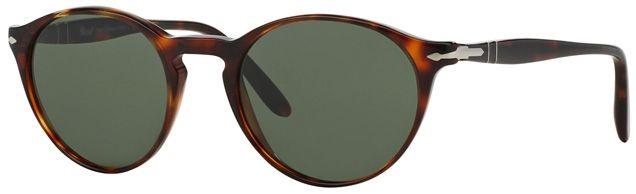 ab3696dfde Persol PO3092SM Suprema 50 Petite Fit sunglasses in Havana frame and grey  green lenses 9015 31
