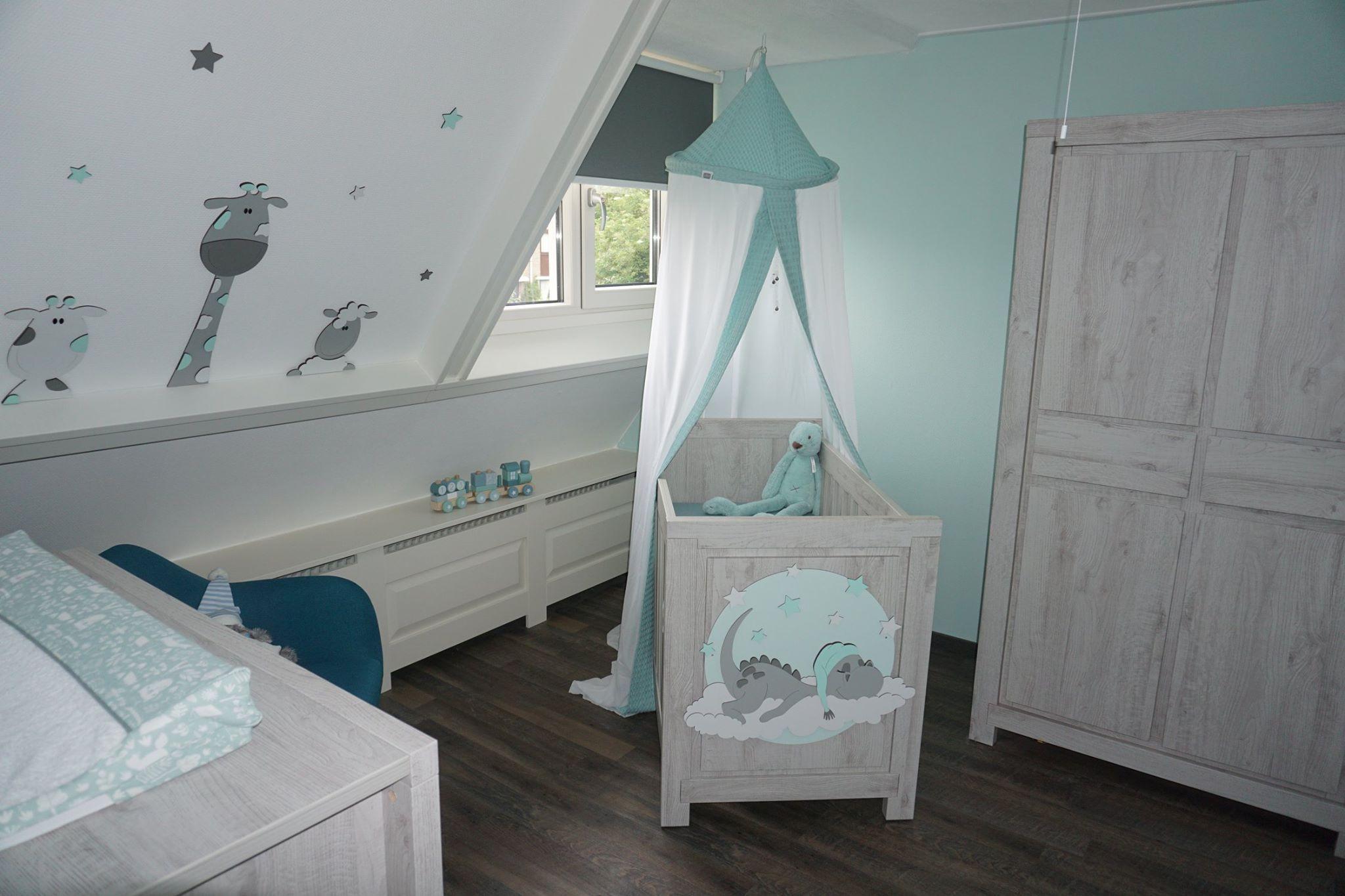Babykamer ideeen grijs eigen huis en tuin