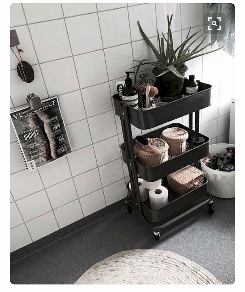 60+ Easy and Effective Small Bathroom Organization Ideas
