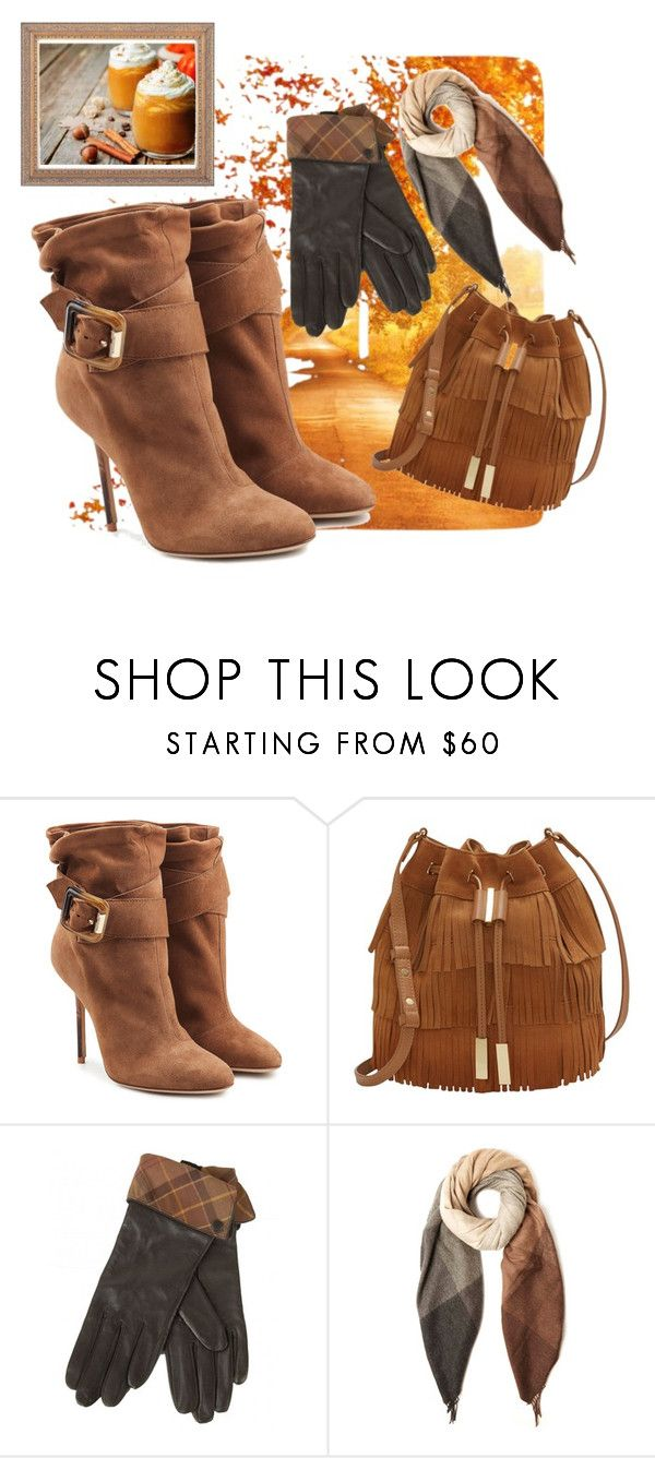 """These boots are made for walking 1"" by mia-de-neef ❤ liked on Polyvore featuring Burberry, Vince Camuto, Barbour and Paul Smith"