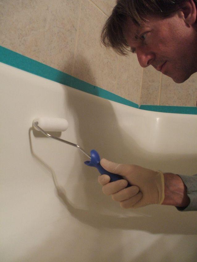 How To Refinish Your Shower Or Bathtub Tub Refinishing Diy