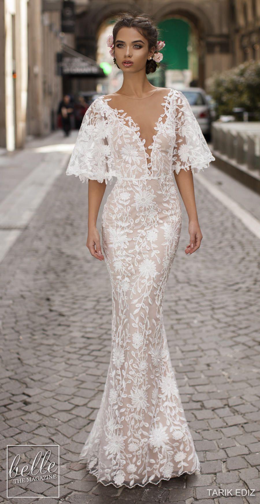 Tarik Ediz Wedding Dresses 2019 Belle The Magazine Wedding Dresses Wedding Dresses Lace Bridal Dresses