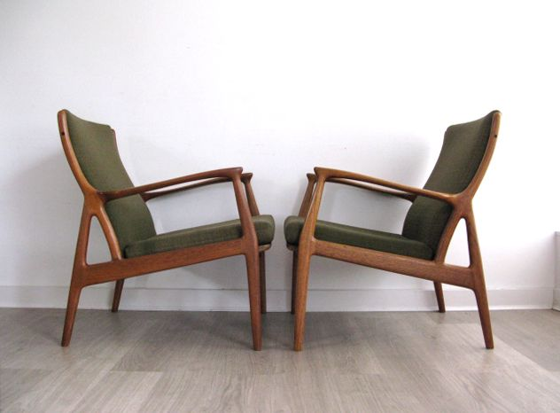 Retro Furniture Low Chair Pair Ideas From Wood Vintage Danish Heals Uk Decoration
