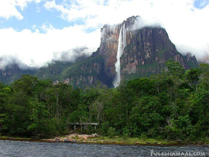 Angel Falls Venezuela Brazil Next Vacation Reisen Landschaft