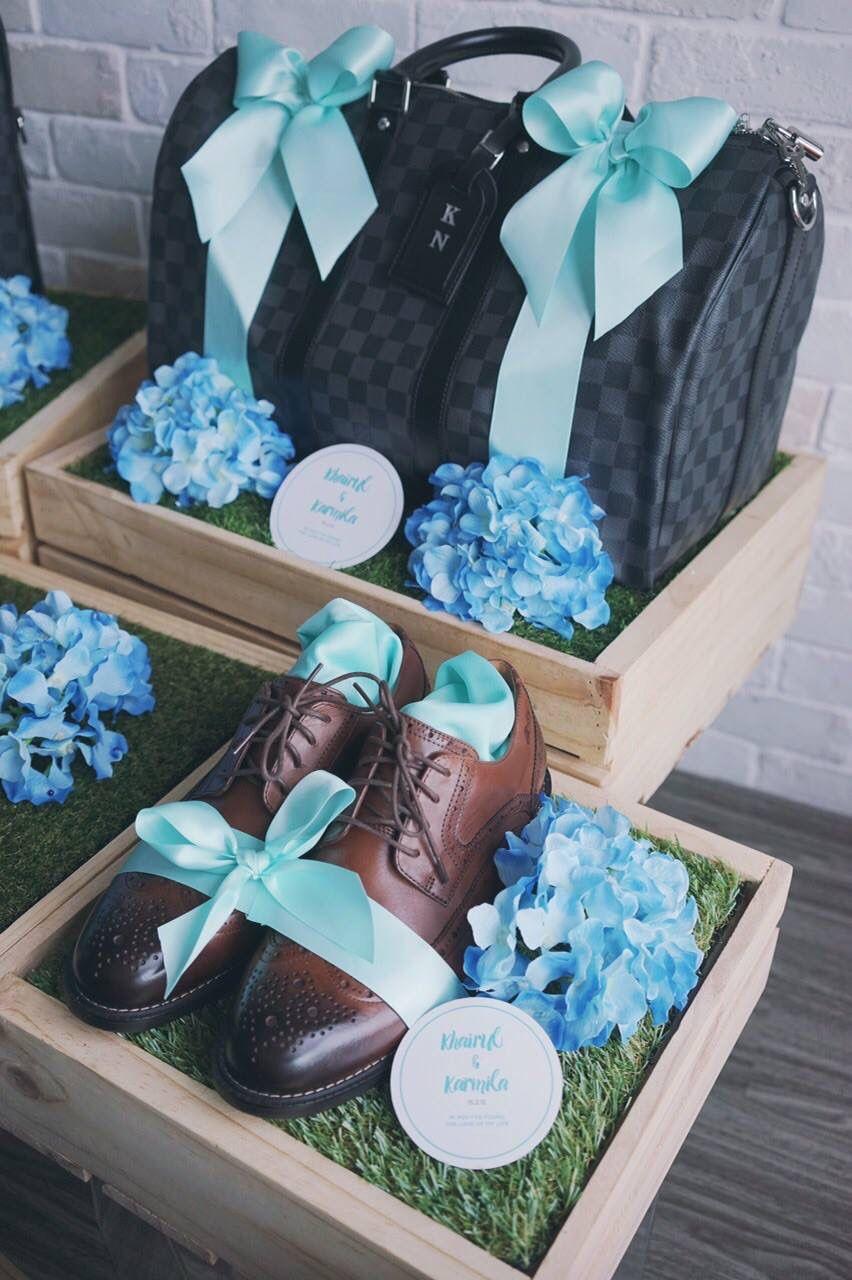 Hantaran For Him Wedding Gifts Packaging Wedding Gift Pack Indian Wedding Gifts