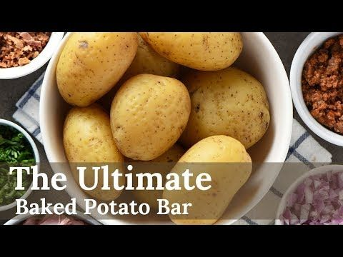 Baked Potato Bar ideas for your next party, family get ...