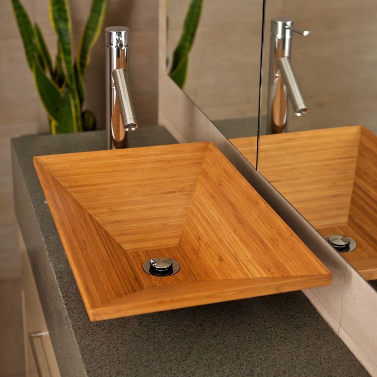 modernes waschbecken aus bambus bauen in 2019. Black Bedroom Furniture Sets. Home Design Ideas