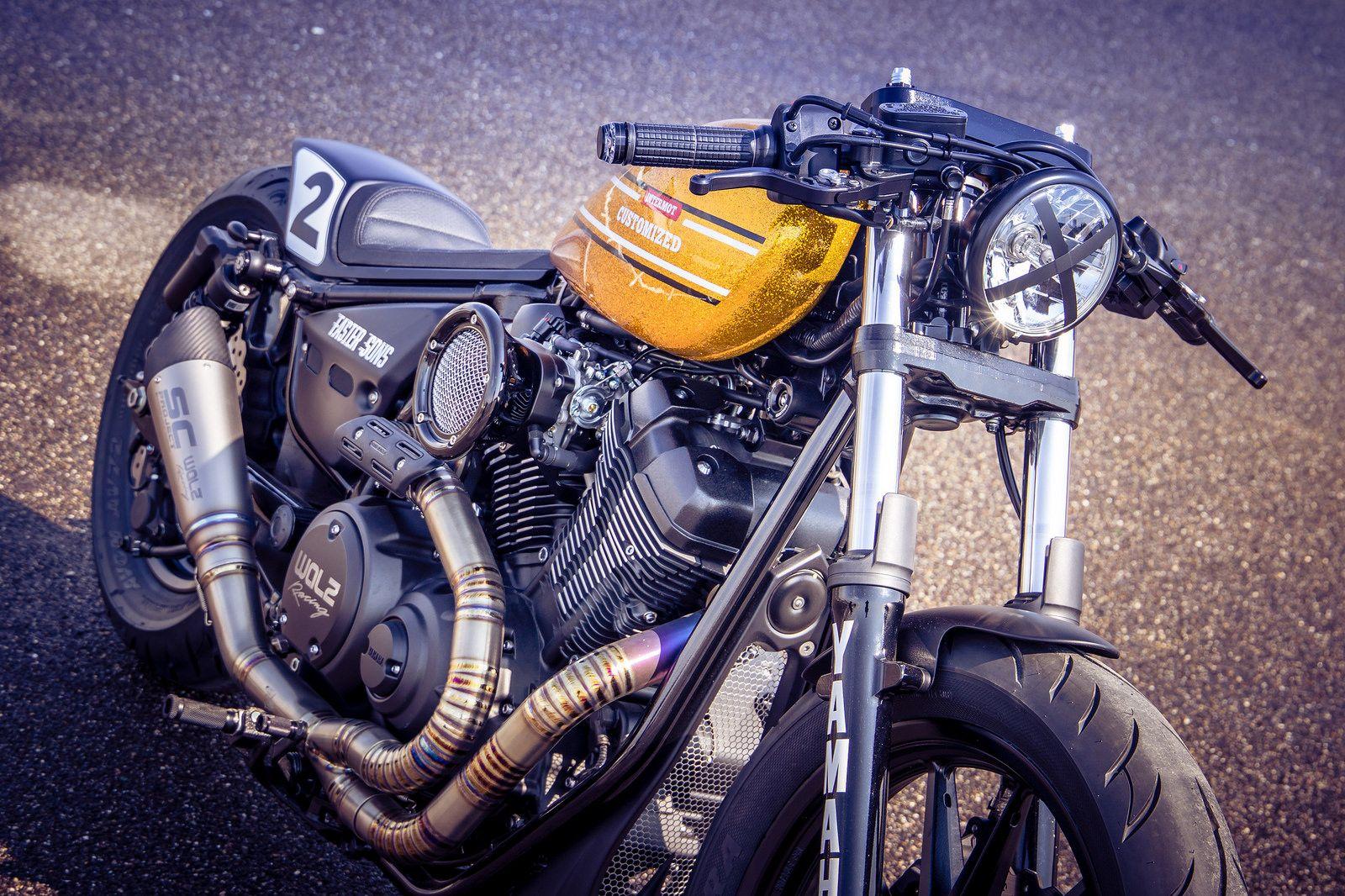 Intermot Custom Bike By Marcus Walz Yamaha Xv 950 R Dragger
