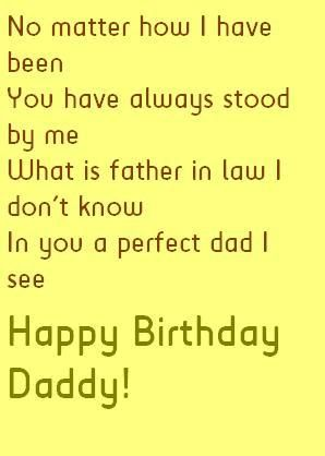 Father In Law Birthday Quotes And Wishes Happy Birthday Wishes