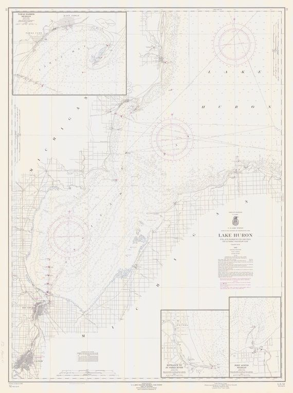 Lake Huron - Saginaw Bay Map 1961   Products   Lake huron ... on frisco bay map, missouri bay map, saginaw michigan, toledo bay map, dover bay map, farmington bay map, saginaw county, south bay map, buffalo bay map, mesquite bay map, saginaw police, bay county map, chicago map, bay bay map, isabella bay map, bay city map, standish mi map, columbia bay map, saco bay map, saginaw river,