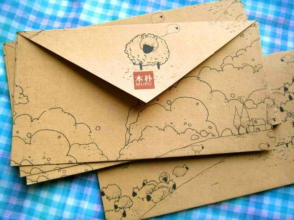 как изготовить открытку почтовую стереотипам