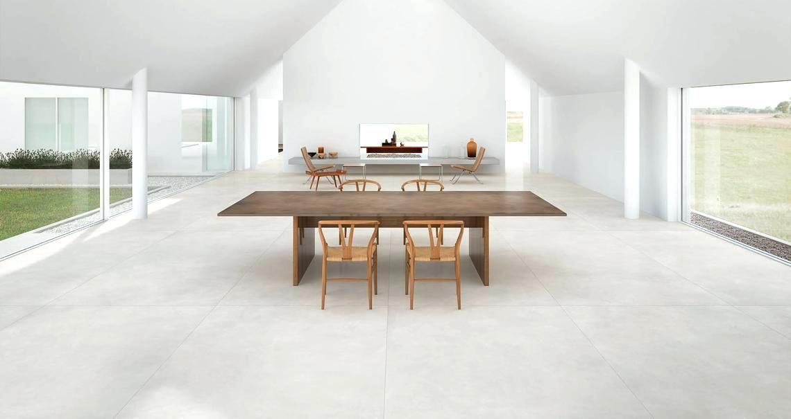 Large Concrete Tiles Look Floor Uk