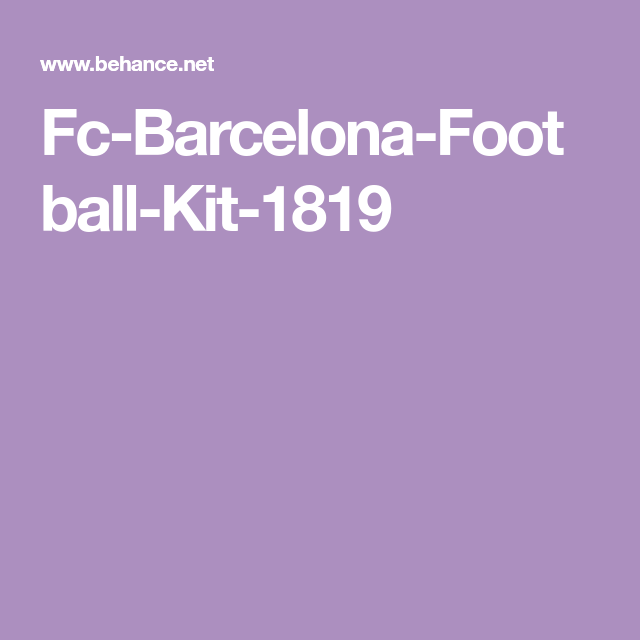 huge discount 20f3a fb6ef Fc-Barcelona-Football-Kit-1819 | Football Kits | Pinterest ...