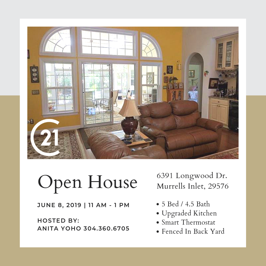 Open House In Blackmoor Saturday 6 8 19 11 1pm Hosted By Anita Yoho 304 360 6705 In The Great Room You Can Enjoy The Open House House Great Rooms