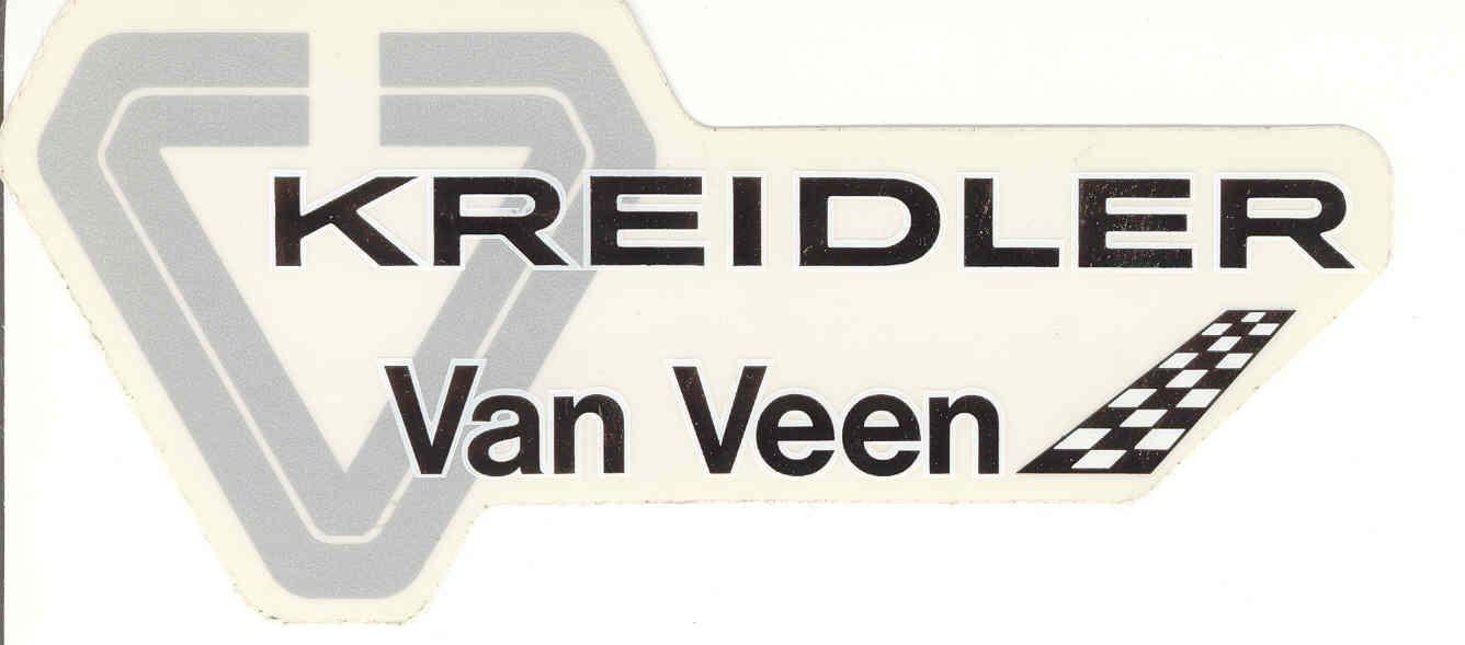 Kreidler Van Veen Kvv Stickers Badges Aufkleber