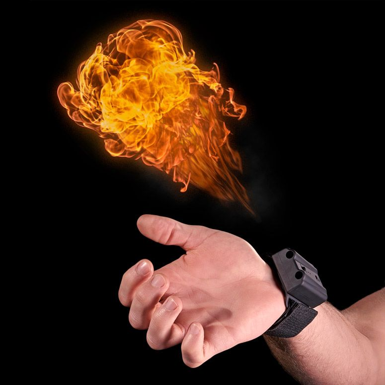 Pyro Mini Fireshooter Shoots Fireballs From Your Wrist