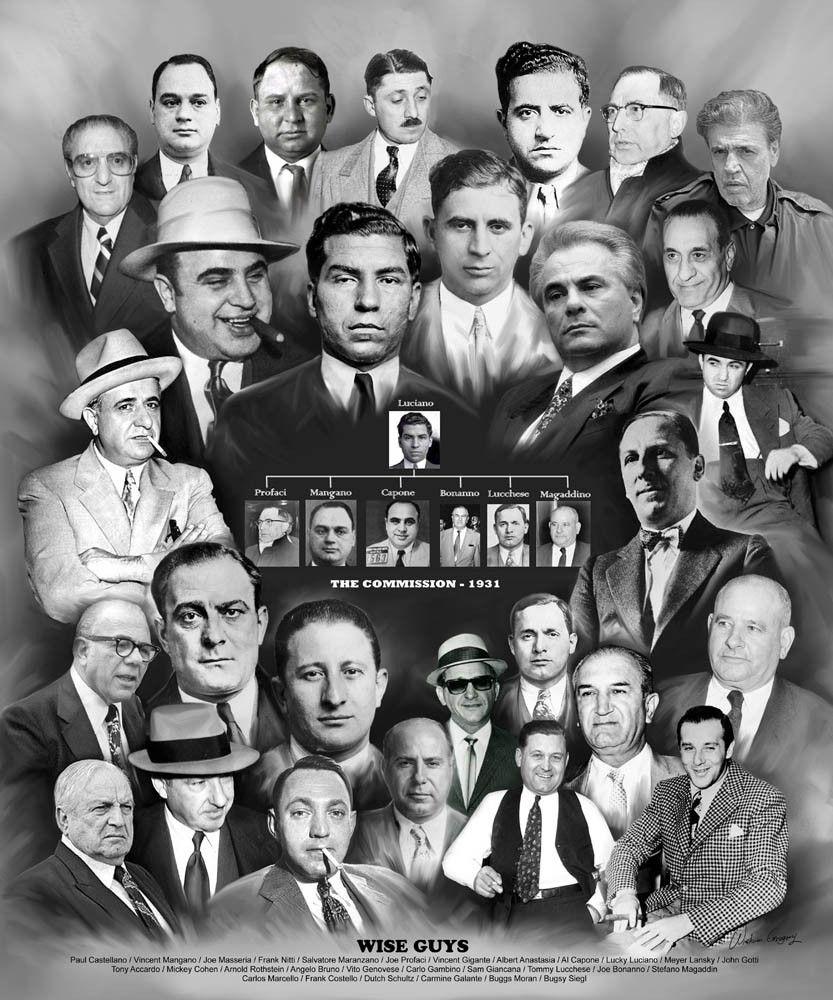 Wise Guys La Cosa Nostra Mafia Mafia Mafia Crime