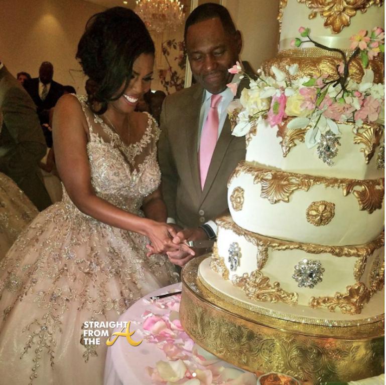 Omarosas Wedding Omarosa Wedding 2017 8 Facebook Hilda Harts