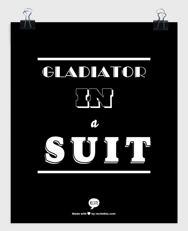 Pin on Gladiators/White Hat!!!