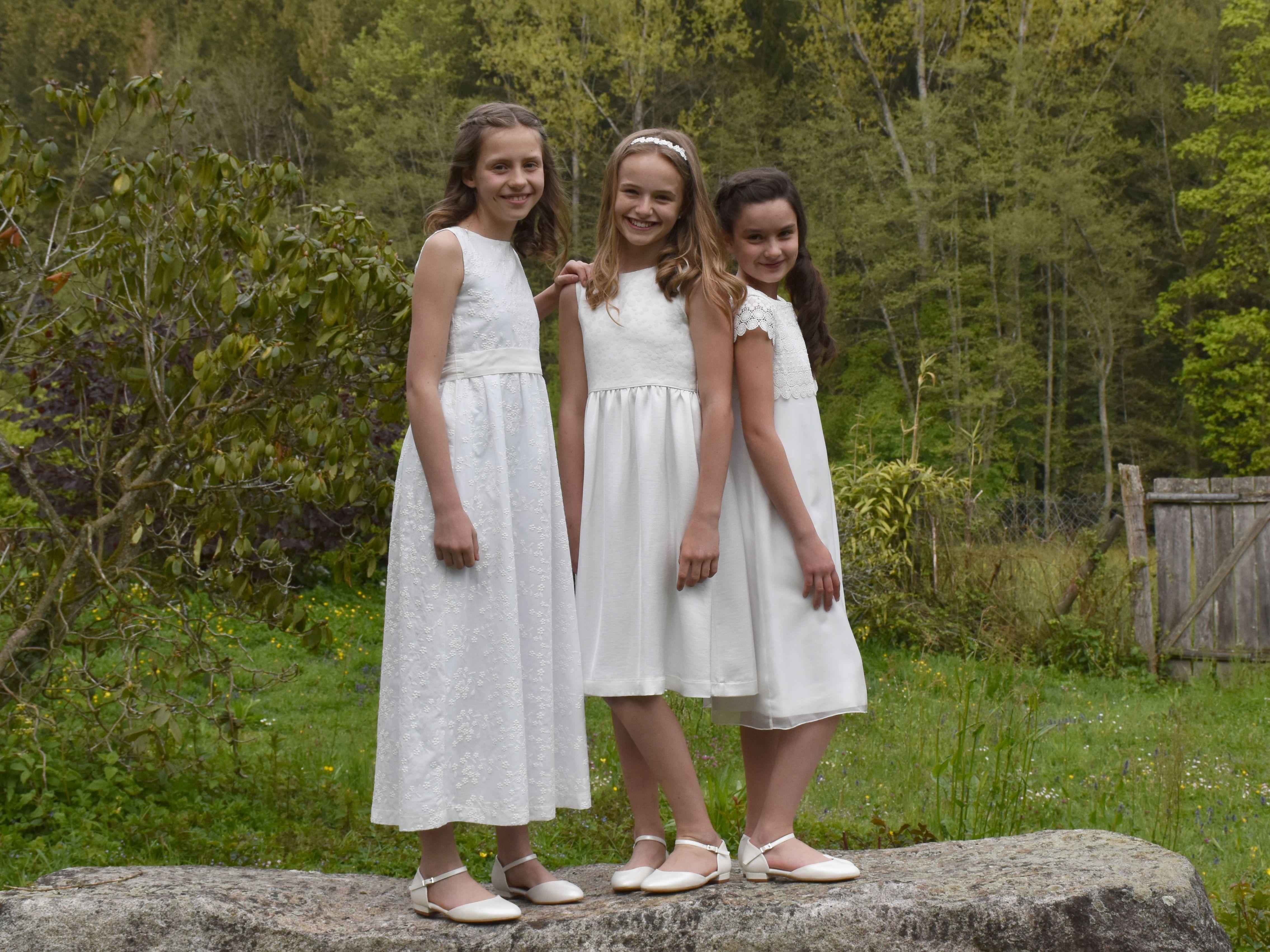 Für mütter zur kommunion kleider [45+] Kleid