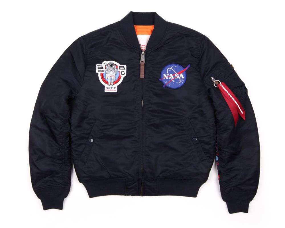 0486f6c81 Billionaire Boys Club x Alpha Industries NASA MA-1 Flight Jacket